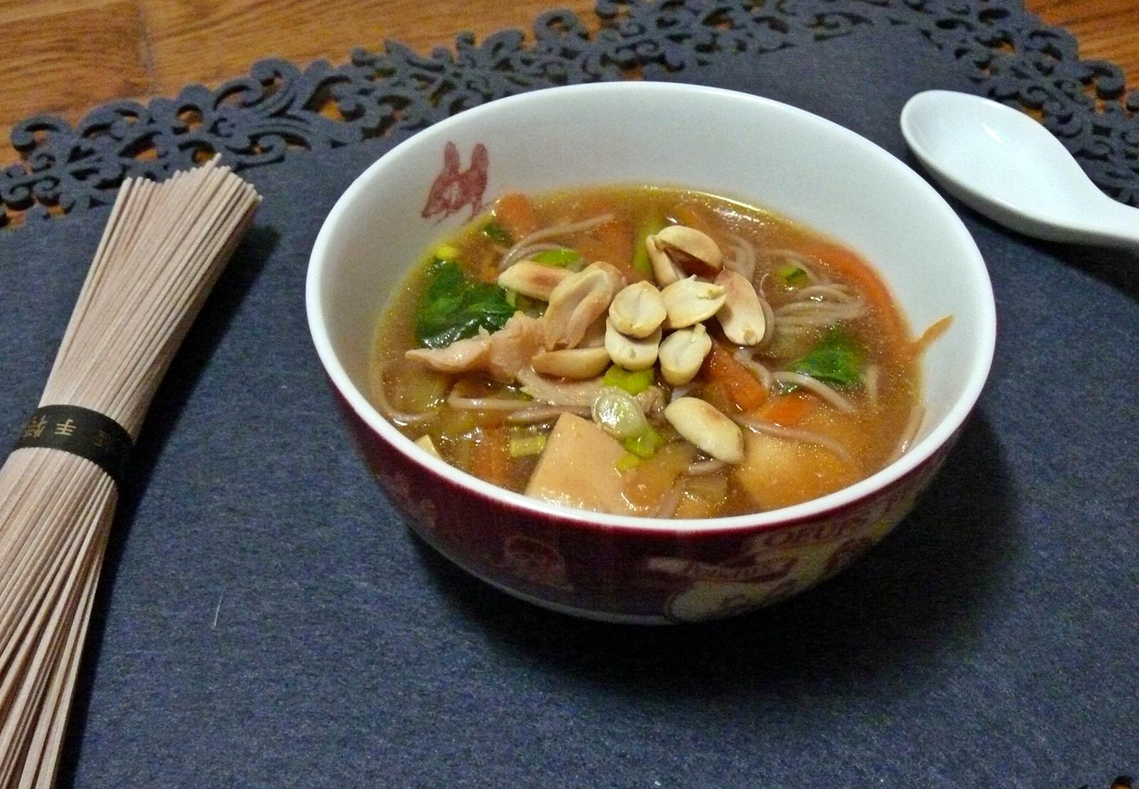 soupe maggi poulet aux vermicelles
