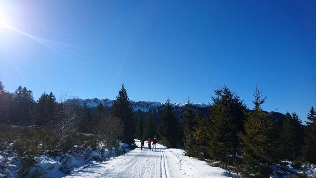 ski de fond mont dore